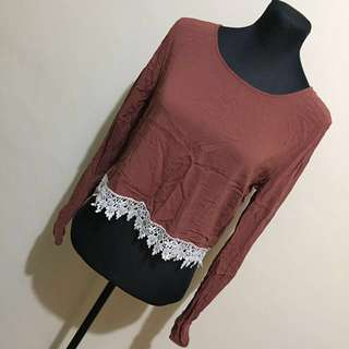 REPRICED - F21 TAN TOP