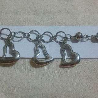 Love shape bracelet