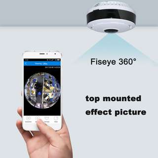 Panoramic 360 Degree fisheye camera. Home and office remote monitoring. All inclusive price. Panaromic.