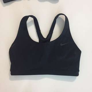 Nike sports bra XS Black NEW