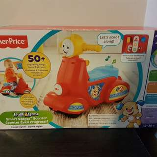 Fisher Price Laugh and Learn Baby infant scooter