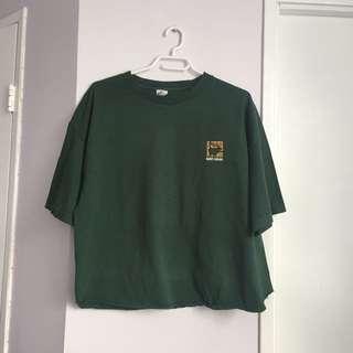 Vintage Green Top