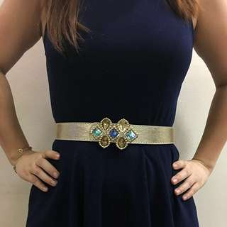 ‼️Repriced: Gold Formal Cocktail Belt