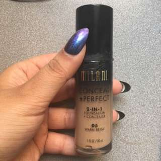 Milani 2-in-1 Conceal and Perfect Foundation