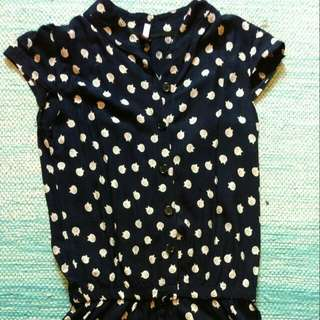 Cute Cat Romper