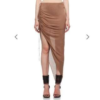 Helmut Lang - asymmetric skirt