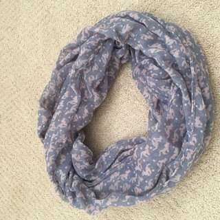 CUTE thin circle scarf