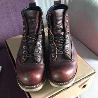 Red Wing 2906 啡色圓頭