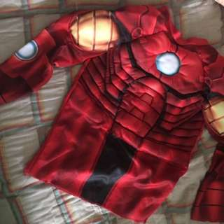 Iron man top