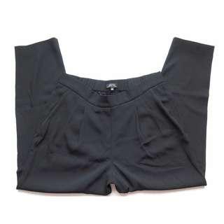 Aritzia Babton COHEN Black Trouser Pants Sz 8