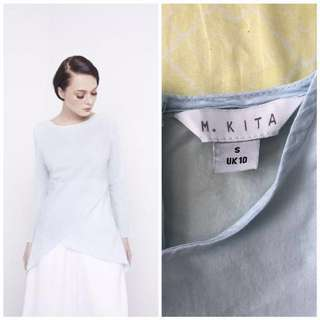 Malaysia Day Discount Special!!!! MKITA HEM OVERLAP BLOUSE