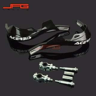 Universal size very hard plastic acerbis Off-road Motorbike Hand Guard windshield handguard