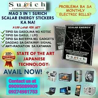 surich scalar sticker