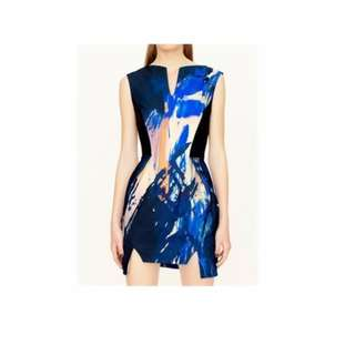 MANNING CARTELL LOADED WITH MUSIC STRUCTURED MINI DRESS