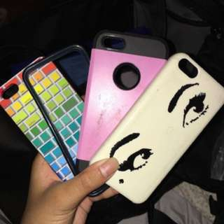 Iphone 5/5s/se cases // $4 each or 10 for all
