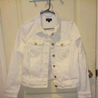 White Jeans Jacket
