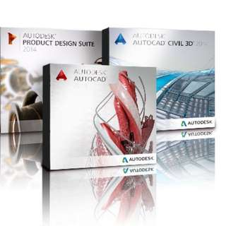 Autodesk 2017 / 2018 Softwares