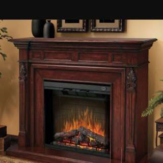 Electric Fireplace- EUC