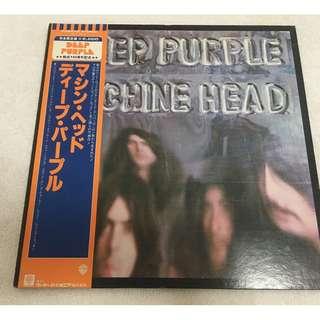 Deep Purple, Machine Head, Japan Press Vinyl LP, Warner Bros. Records – P-6507W, 1981, with OBI