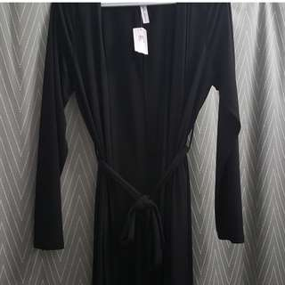 M Boutique Long Black Duster