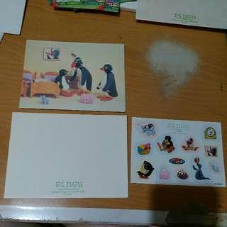 Pingu 咭連信封 (送貼紙)