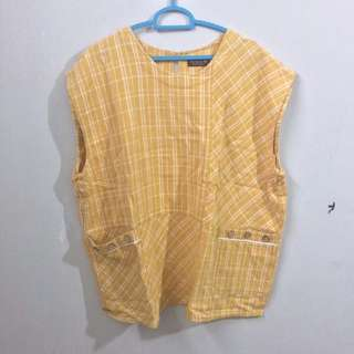 Yellow grid oversize