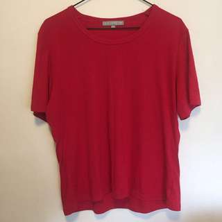 Vintage Red Tshirt