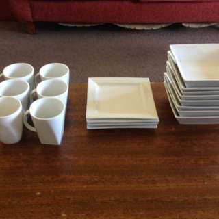 Dinner Set (Without Dinner Plates)