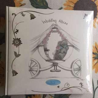(Further Price Reduced) Me To You Bear Wedding Album