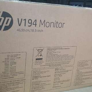 HP v194 led monitor