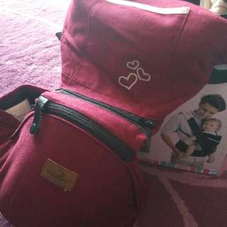 babylove kangoo hip seat + carrier