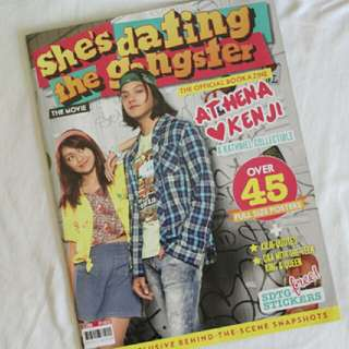 She's Dating The Gangster The Official Bookazine