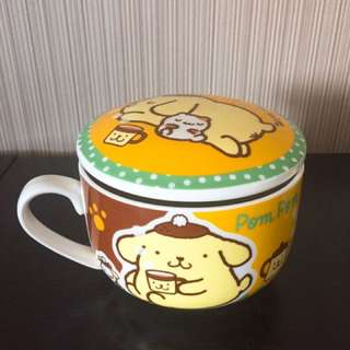 WTS> (New in Box) Sanrio Pom Pom Purin Creamic Mug with Lid