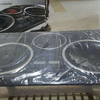 Trio Cooktop / Electric Stove (Alvano)