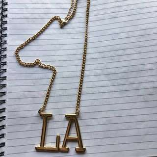 LA Necklace/Chain