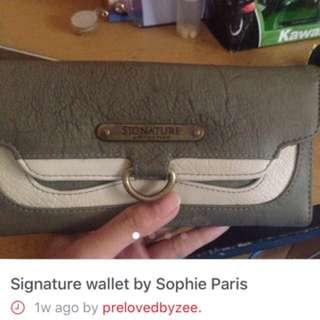 Signature Wallet By Sophie Paris