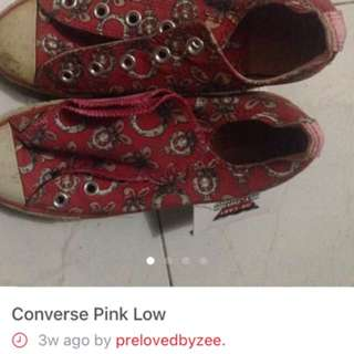 Converse Pink Low
