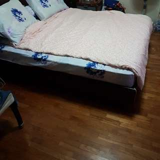 queen bed bed frame for sale $80