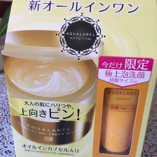 ShiSeido AquaLabel Special Gel Cream Oil In All In One/90g