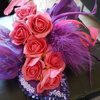Lovely Fascinator great for Melbourne cup