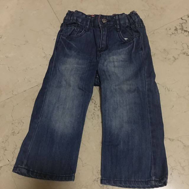 12-24M H&M Hello Kitty Jeans