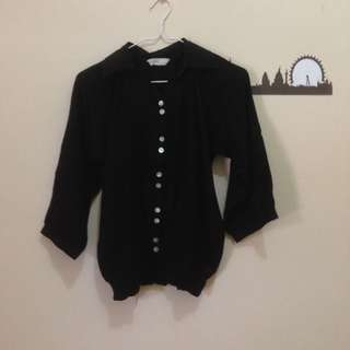 Kemeja hitam by St. Yves Ladies