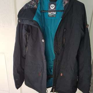 Women's black snow jacket XS