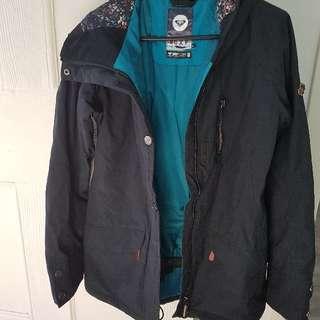 Women's black snow jacket XS