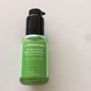 Ole Henriksen invigorating night treatment 50ml AHA complex