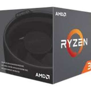 RYZEN 3 1200 with Wraith Stealth 65W Cooler