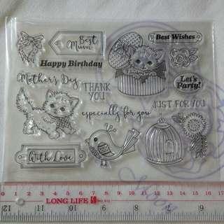 透明印章 Clear Stamp (包郵)