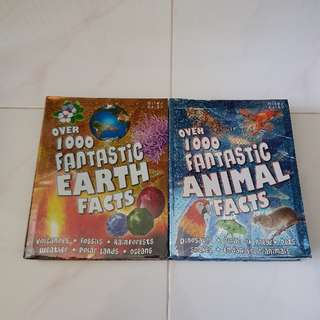 earth facts, animal facts book