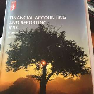 ICAEW Financial accounting and reporting FAR 2017