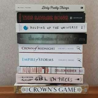 UPDATED Brand new books!